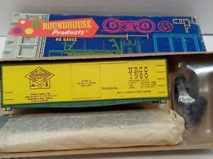 round house Nevada Railroaders of carson city HO Scale freight car kit #