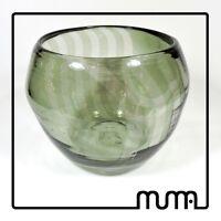 Pezzo unico. Ciotola in vetro di Murano. Tecnica a bersaglio. Murano Glass
