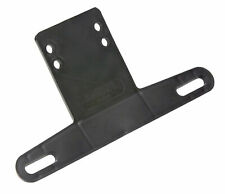 Plastic Bracket License Plate Black