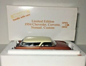 RARE Danbury Mint 1954 CHEVROLET CORVETTE NOMAD CUSTOM Limited Edition 1/24