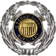 Coast Guard Auxiliary Badge Operation Regulation Size NEW! (USCG Issue)
