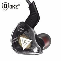 QKZ AK6 Copper Driver HiFi Earphone DJ Bass Headset Earbuds Sport Headphone Mic