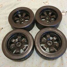 Hpi Savage On Road Slick Tarmac 17mm Hex Rc Truck Wheel And Tyres