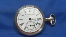 Vintage R.M Raynold & Co 21 jewels Pocket Watch For parts Silverode Case