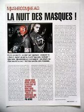 COUPURE DE PRESSE-CLIPPING :  MUSHROOMHEAD  08-09/2002 Pig Benis,Xx