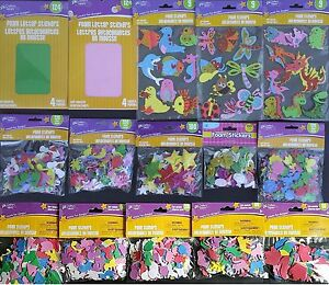 FOAM LETTERS NUMBERS SYMBOLS Self Adhesive for Arts & Crafts SELECT: Symbol