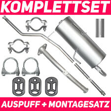 Schalldämpferset Auspuffanlage Auspuff Peugeot 206 1.4 Schrägheck Fließheck