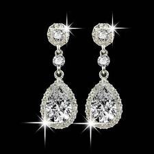 Wedding Jewelry Rhinestone Style Wedding Earrings Fashion Simple For Women New