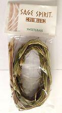 Sweetgrass intrecciata - per fumigazione, purificante, credente - RAPIDO