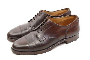 ALDEN 2160 C USA Derby shoes men Shell CORDOVAN USA C/E 10 US/ 9.5 UK CapToe