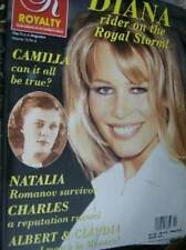 Royalty Magazine Vol 12 #2 Claudia Schiffer Cover, Diana Royal Storm, Camilla
