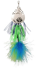 cuiller brochet CWC double pigspin Pearl Black Blue-Green