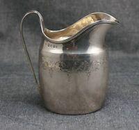 Sterling Silver CREAMER Duncan URQUHART & Napthali HART 1796 London Hallmarks