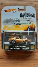 Hot Wheels '68 Corvette Gas Monkey Garage Real Riders