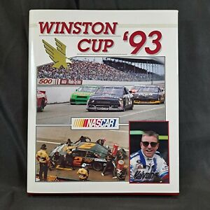 1993 NASCAR Yearbook Winston Cup Grand National UMI Publication Vintage