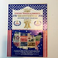 Bicentennial Souvenir Stamp Collection with Copy of Declaration of Independence
