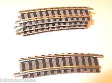 5 gebogene  Gleise  Spur N  Fleischmann  9127.#4833