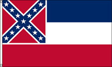 2x3 Mississippi Flag 2'x3' House Banner grommets super polyester