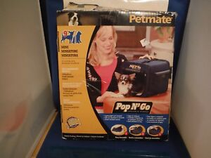 "New Petmate Pop N Go Chihuahua Carry Bag 12""x9.5""x 10"" NIB"