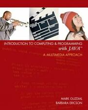 Introduction to Computing & Programming with JAVA