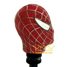 3D Red Spider-Man Type Car Auto Manual Refit Gear Shift Knob Resin Craft Carved