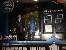 Dr who Clara and tardis  Caliburn House  adventure  figure set ,