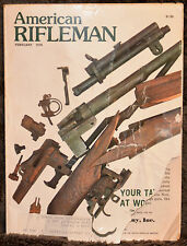 Magazine American Rifleman, FEBRUARY 1978 !!! REMINGTON 1978: M870, M700... !!!