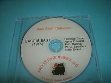 Rare Silent Film - East Is East (1916) Florence Turner, Henry Edwards
