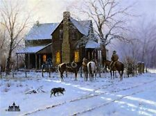 BY EARLY LIGHT by Martin Grelle CANVAS