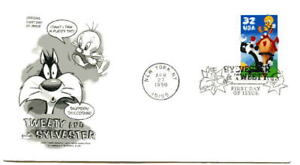3204a Tweety & Sylvester, ArtCraft, single,  FDC