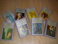 Vintage Lot of 8 Nancy Drew Mystery Stories Hardbacks: 2 stories per book
