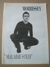 MORRISSEY - MALADJUSTED - 1997 - MUSIC PRESS ADVERT POSTER 15 X 11 in