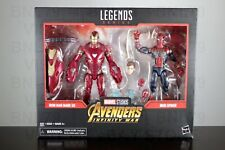 IRON MAN MARK 50 & SPIDER Marvel Studios Legends Avengers Infinity 2Pack TARGET