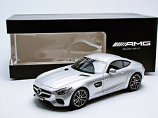 Norev Mercedes Benz AMG GT S C190 Silver Color Dealer Ed. 1/18 New! In Stock!
