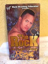 WWE WWF THE ROCK: THE PEOPLE'S CHAMP 2000 VHS WRESTLING VIDEO