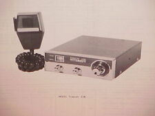 1977 PEARCE-SIMPSON CB RADIO SERVICE SHOP MANUAL MODEL TOMCAT 23B