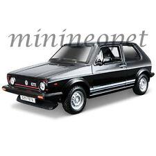 BBURAGO 18-43205 CLASSIC 1979 VW VOLKSWAGEN GOLF MK1 GTI 1/32 DIECAST CAR BLACK