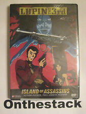 Lupin the 3rd: Island of Assassins Movie DVD (2005, Uncut) Sealed!