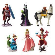 Official Disney Store Sleeping Beauty 60th Anniversary Figurine 6 Figure Playset