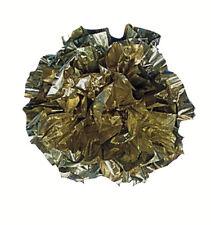 25 Pompons Métallisés Or en plastique de 5.5 cm [233219] mariage fete decoration