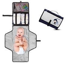 Portable Changing Pad - Premium Quality Travel Station - Diaper Baby Clutch Kit