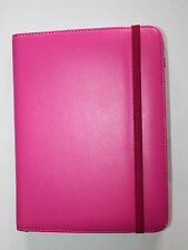 "UNIVERSAL PU LEATHER STAND CASE COVER FOR 7"" INCH TABLET ANDROID - PINK"