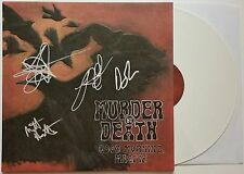 MURDER BY DEATH BAND SIGNED GOOD MORNING MAGPIE WHITE VINYL ALBUM W/ COA