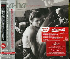 A-HA-HUNTING HIGH AND LOW-IMPORT 4 CD WITH JAPAN OBI Ltd/Ed J50