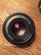 Nikon Series E AI-S MF 50mm F/1.8 MF AI-S Lens