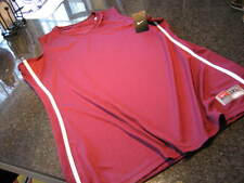 NWT  - Ladies ADIDAS Burgundy Sleeveless BASKETBALL Shirt (Size 3XL)