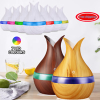 USB 300ml Air Humidifier Aroma Diffuser Ultrasonic Essential Oil Aromatherapy