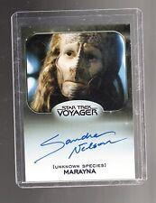 Star Trek 50th Anniversary Sandra Nelson autographed card #4