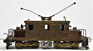 Ken Kidder HO Brass Steeple Cab Freight Motor Baldwin-West Class D TESTED / J