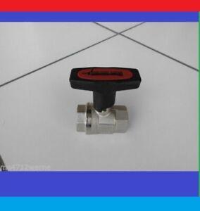 Kugelhahn Isolierbar mT-Griff Absperrhahn Ventil Heizung Pumpenkugelhahn max120°